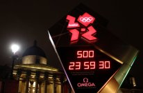 Omega unveils official London 2012 Countdown Clock